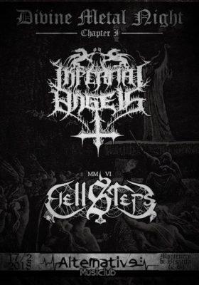 Divine Metal Night: Infernal Angels ed Hellsteps il 17 febbraio @ AlternativE - musiclub c.   Molise   Italia