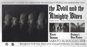 The Devil & the Almighty Blues, Electric Ballroom, Deadman's Bluesfuckers @ Kraken Pub | Milano | Lombardia | Italia