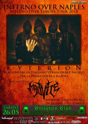 Kyterion: Live per la prima volta a Napoli, Madvice special guest @ Evilution Club | Pezzalunga | Campania | Italia