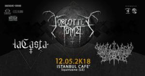 Forgotten Tomb: live all'Istanbul Cafè di Squinzano (LE) @ Istanbul Cafè | Squinzano | Puglia | Italia