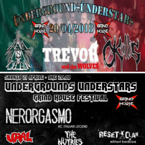 Undergrounds Understars:  20 e 21 aprile primo festival del Grind House Club @ Grind House Club  | Padova | Veneto | Italia