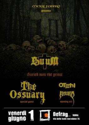 SuuM + The Ossuary, Otehi & Hound @ Defrag  | Roma | Lazio | Italia