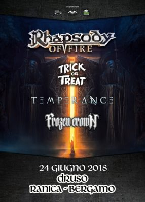 Rhapsody of Fire, Trick or Treat and more @Druso - Bergamo @ Druso | Lombardia | Italia