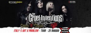 Cruel Intentions + Speed Stroke + Lethal Idols @ Grind House Club  | Padova | Veneto | Italia