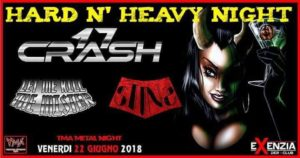 TMA METAL NIGHT : 17 Crash // Let me kill the mister // Stins @ Exenzia Der | Prato | Toscana | Italia