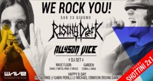 We Rock You!: sabato 23 giugno al Wave Club di Rimini! @ WAVE | Misano Adriatico | Emilia-Romagna | Italia