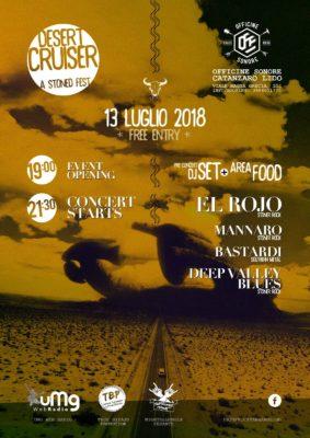 Desert Cruiser - A Stoned Fest: i dettagli della prima edizione @ Officine Sonore  | Catanzaro | Calabria | Italia