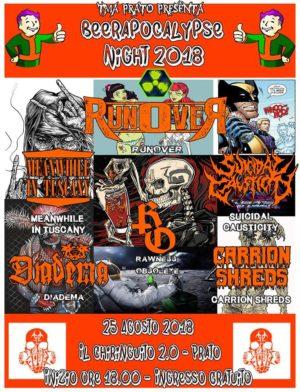 Beerapocalypse Night: le band della 3ª Edizione @ Il chiringuito 2.0 | Prato | Toscana | Italia