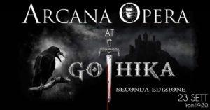 Arcana Opera Live @Gothika @ Fiere di Santa Lucia | Veneto | Italia