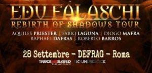 Edu Falaschi: a Roma con il Rebirth of Shadows Tour @ Defrag | Roma | Lazio | Italia