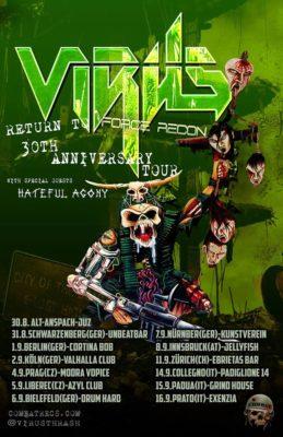 Virus / Hateful Agony / Sahon / Coexistence @ Exenzia Der Club | Prato | Toscana | Italia