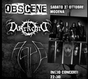 Obscene: Santa Muerte @ Scuderie    Spilamberto   Emilia-Romagna   Italia