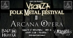 Vicenza Folk Metal Festival Pt.2 @ Enjoy Club Vicenza | Torri di Quartesolo | Veneto | Italia