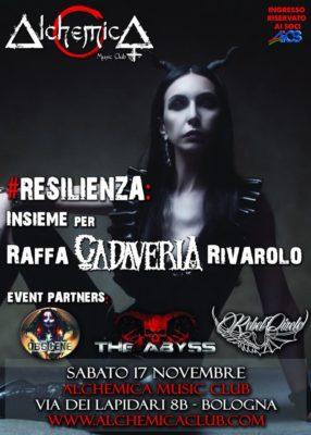 Resilienza: Insieme per Raffa Cadaveria Rivarolo @ Alchemica Music club | Bologna | Emilia-Romagna | Italia