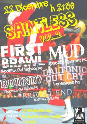 Saintless VOL.II: live al Grind House Club @ Grind House Club