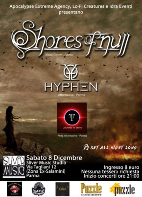 Shores Of Null - Hyphen - Journey To Gemini @ Sliver Music Studio