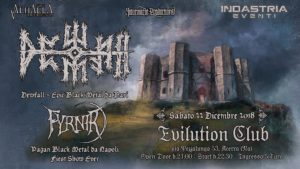 Dewfall: live all'Evilution Club di Acerra (NA) @ Evilution Club