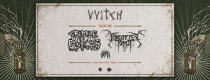 VVitch: prossimo live con Cripple Bastards, Forgotten Tomb e THØRN